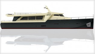 View large version of image: 24m Hot Lab Yacht Concept