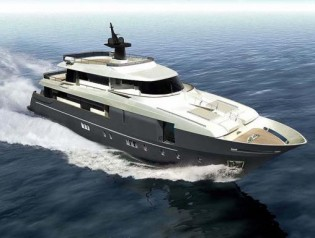 View large version of image: 33m Aicon Navetta 110 Yacht