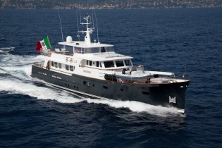 View large version of image: MARHABA Yacht by Ocea Shipbuilding available for charter in Mediterranean