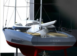 View large version of image: 40m SHOGUN Yacht Concept by Liebowitz & Pritchard