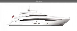 View large version of image: Princess 40M Luxury Motor Yacht