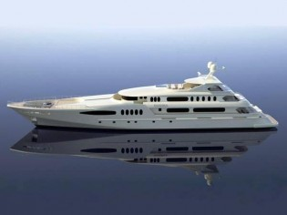 View large version of image: 190´ Egeria Yacht Completed