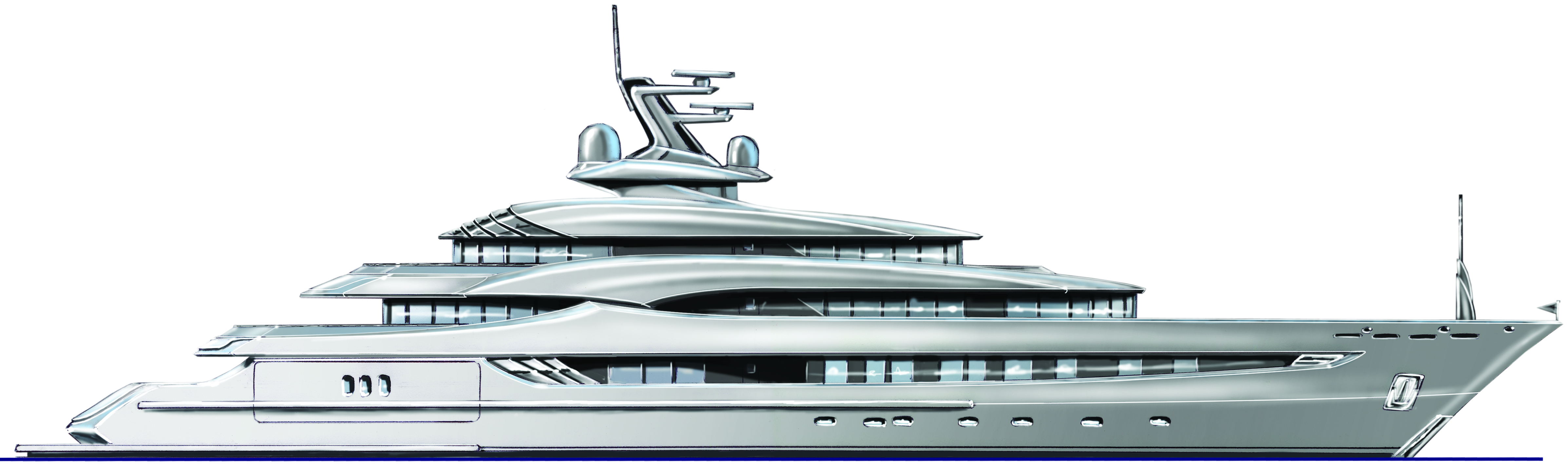 Art Line Yacht Design : Andrew moore designed she yacht for pegaso marine