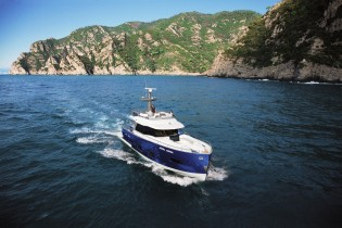 View large version of image: Magellano 50 Yacht by Azimut receives the 2011 UIM Environmental Award