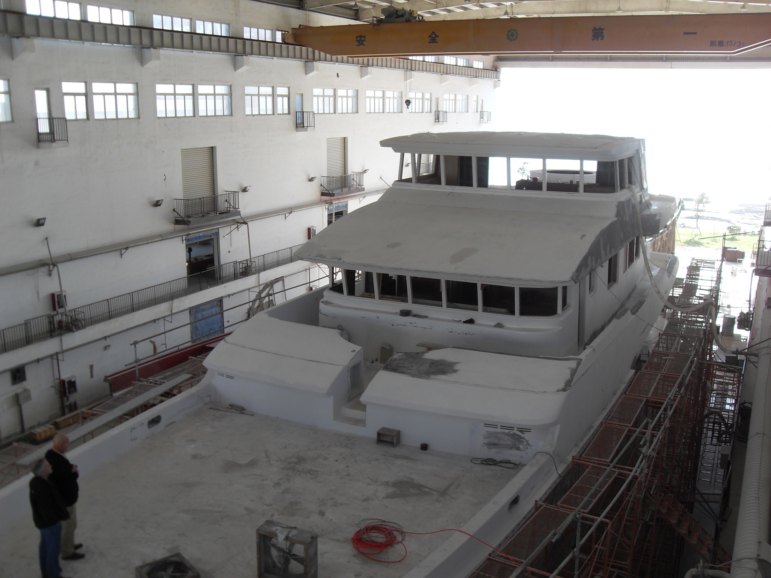 Works on the Nordhavn 120 Yacht Continue – Superyachts News ...