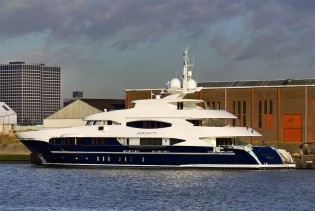 View large version of image: Motor Yacht Serenity by Heesen delivered