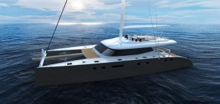 View large version of image: Sunreef 80 Yacht due to be launched in March 2013