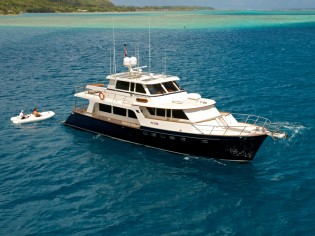 View large version of image: 75 Marlow Explorer Yacht MISS KULANI available for luxury yacht charter in TAHITI