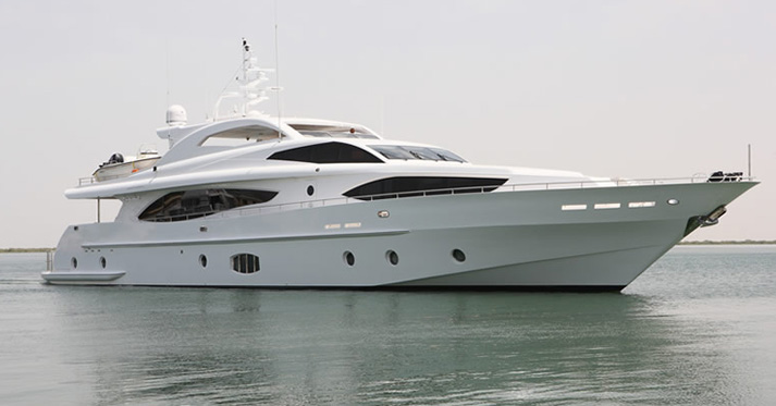 View Large Version Of Image Gulf Craft Launches 37m Majesty 121 Yacht Hull 5