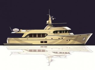 View large version of image: Construction of The Moonen 100 Yacht YN195 In Progress