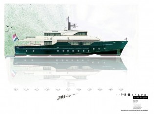 View large version of image: P.B.Behage´s New 33.33m Yacht Concept