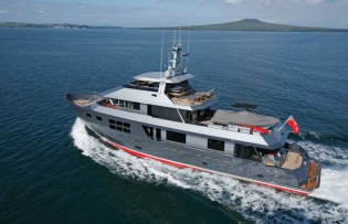 View large version of image: Popular charter Yacht VvS1 available in the Mediterranean after 5 years in the Pacific