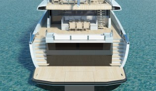 View large version of image: Futher details about the 24m Wally//Ace Yacht revealed
