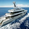 45m Expedition Charter Yacht BIG FISH enroute to the South pacific – available for charter in Tahiti