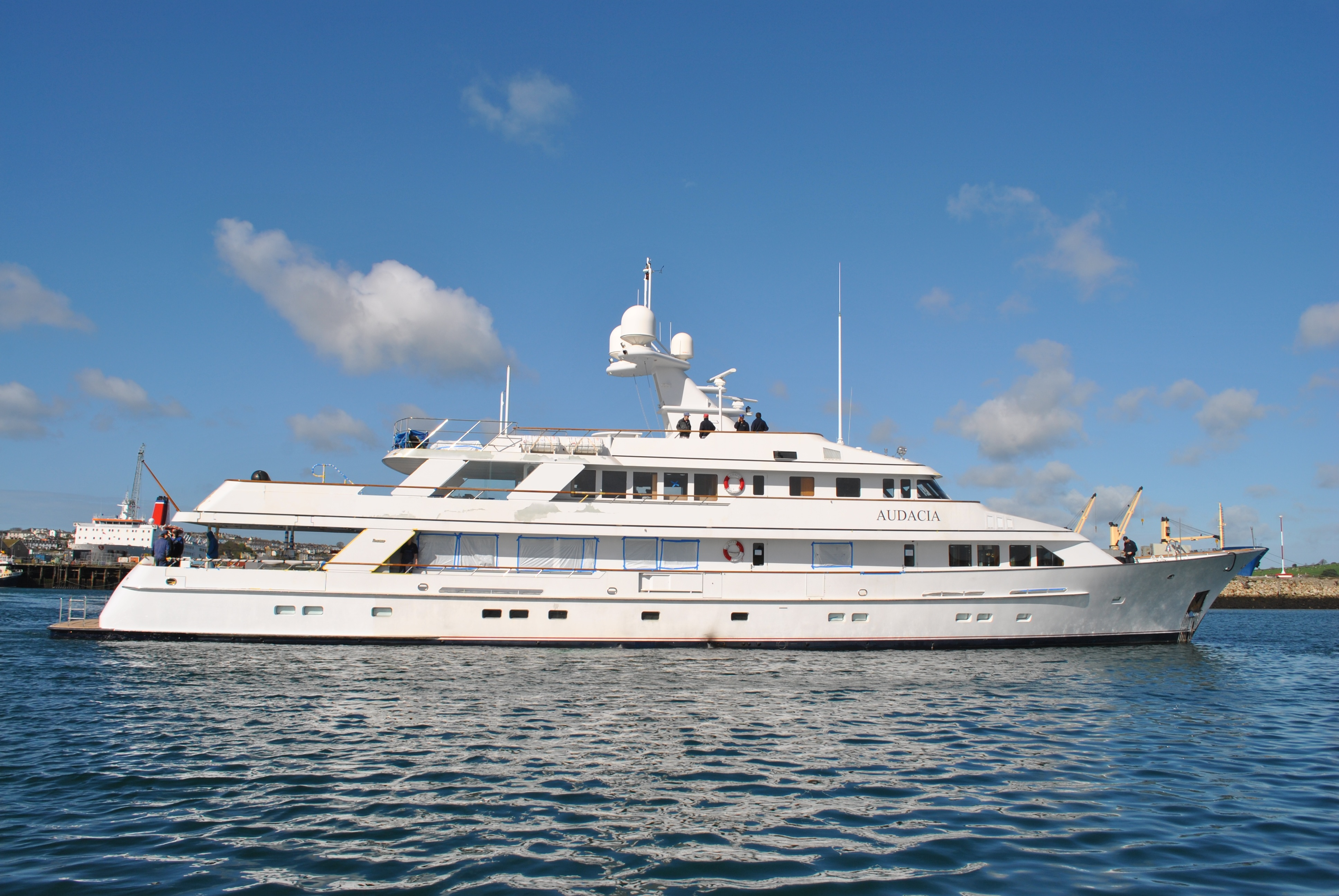 Feadship Luxury Yacht Audacia Refitted By Pendennis