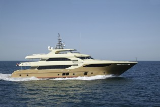 View large version of image: Gulf Craft launches the first 41m Majesty 135 yacht