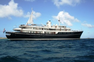 View large version of image: Luxury superyacht Sherakhan's Caribbean charter special