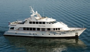 View large version of image: Custom 120' yacht First Draw (ex Cacique) successfully refitted by Christensen Shipyards