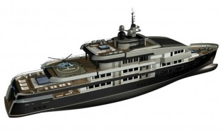 View large version of image: Gian Paolo Nari 75m Expedition Yacht NPe75 Concept