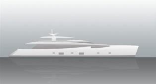 View large version of image: Keel of Dubois 46m Yacht 368 Laid