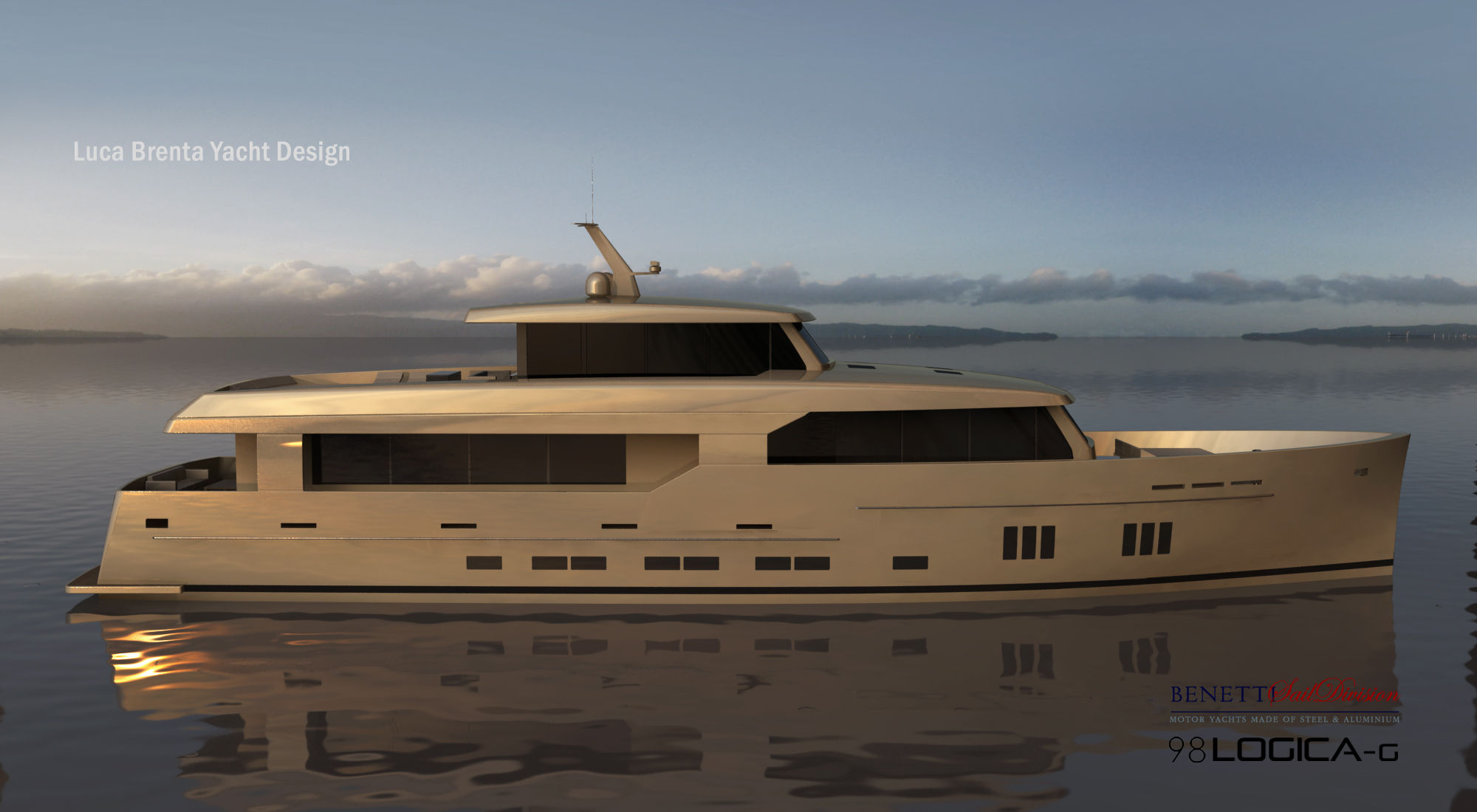 View large version of image: 29.76m BSD 98 Logica Yacht by Benetti Sail ...