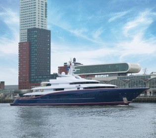 View large version of image: OceAnco´s Newly Launched 88.5m Y707 Superyacht among the World´s Largest Yachts