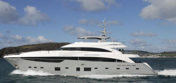 View Large Version Of Image Princess 40m Imperial Yacht Launched