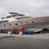 Pre-launching phase for the New Coauch La Pellegrina yacht