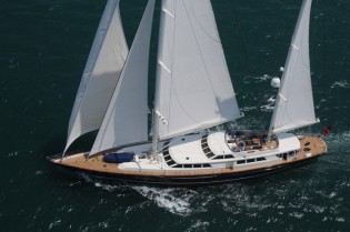 View large version of image: 56m Sailing Yacht by RMK Marine based on the 52m Nazenin V yacht
