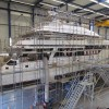Refit of the 93m yacht Eos and the 40m yacht Be Mine by Royal Husiman well underway