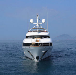 View large version of image: Award-winning superyacht 'TOLD U SO' available for luxury charter in the Mediterranean