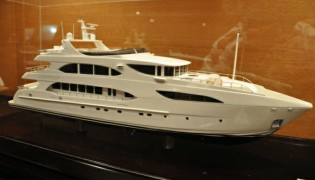 View large version of image: Second 39.8m Yacht IAG 127 scheduled to be launched this year