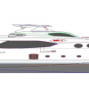 Luxury yacht Majesty 105 by Gulf Craft makes her debut at 2012 Dubai Boat Show