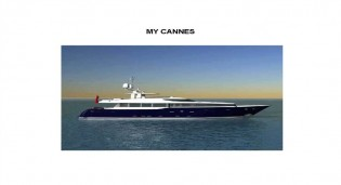 View large version of image: Saenz 41m yacht Cannes designed by Dubois due to be launched this year