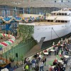Feadship launches the 78.5m yacht Hampshire II (ex hull 806)