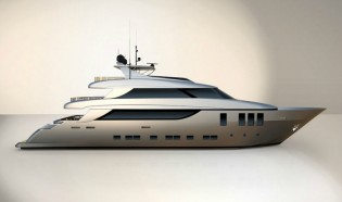 View large version of image: Admiral Tecnomar Group sells the 38m yacht NADARA 38 scheduled for delivery in summer 2014