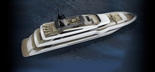 View large version of image: 49m Rossinavi yacht Prince Shark designed by Enrico Gobbi