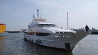 View large version of image: Icon Yachts welcome charter yacht Seven Sins for a new make-over