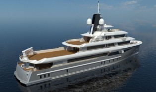 View large version of image: 49.75m yacht Cosmo 50 Explorer designed by Cristiano Gatto