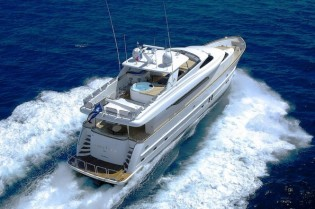 View large version of image: Charter Yacht ANNABEL II offers a 15% discount for Eastern Mediterranean charter vacation in June