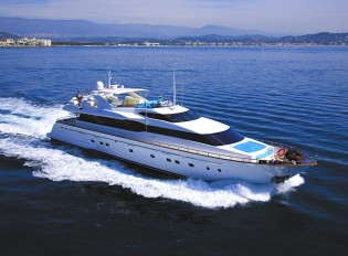 View large version of image: 20% discount on charter yacht POWDERMONKEY in the Western Mediterranean