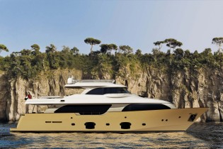 View large version of image: Navetta 26 Crescendo yacht Immagine by Ferretti Custom Line launched