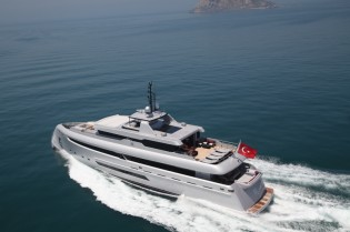View large version of image: Bilgin 132 superyacht M (Project M)