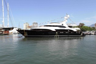 View large version of image: Benetti launched 44m yacht Checkmate (hull BV018)