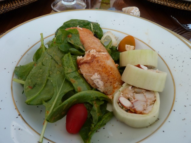 View large version of image: Yacht Charter; Terrific Cuisine on board Charter Motor Yacht Capricorn