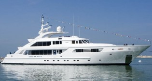 View large version of image: 47m ISA motor yacht AXIOMA Mediterranean charter special in June and September