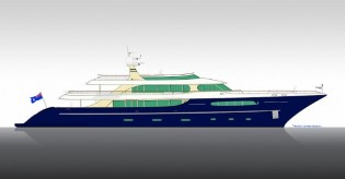 View large version of image: 49m Acico luxury yacht Nassima to be launched soon