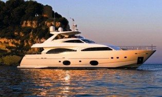 View large version of image: Ferretti Custom Line 97 charter yacht LADY CHATTERLEY available in the Mediterranean