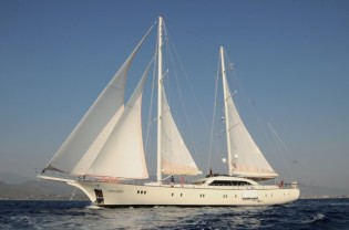 View large version of image: Eastern Mediterranean Charter Special for Motorsailer yacht ALLESANDRO