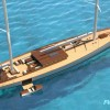 New Reichel/Pugh 55m DESIGN 150 yacht concept